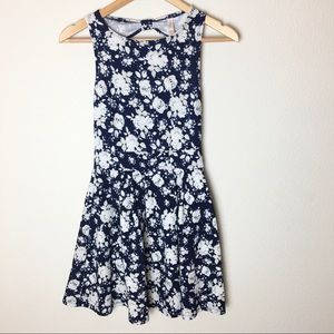 Xhilaration Floral sleeveless Skater Dress